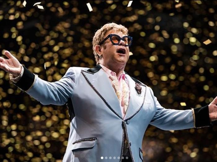 Elton John. Foto: Dok. Instagram/eltonjohn