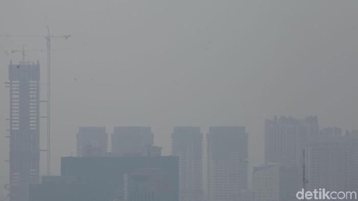 Ilustrasi polusi udara di Jakarta (Rifkianto Nugroho/detikcom)