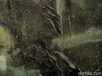 Lukisan yang diyakini peninggalan manusia prasejarah (Afif Farhan/detikcom)