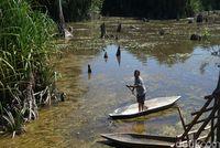 Jejak Geosite Sungai Purba di Negeri Laskar Pelangi