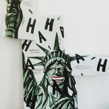 Residensi di New York, Naufal Abshar Dalami Seri Lukisan 'Survival'