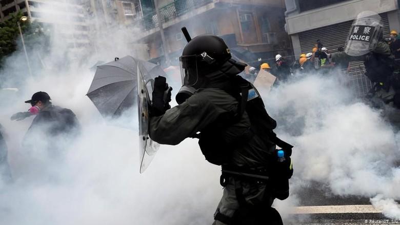 Aksi Protes di Hong Kong Peringatan Bagi Taiwan Untuk Jauhi Komunis China?