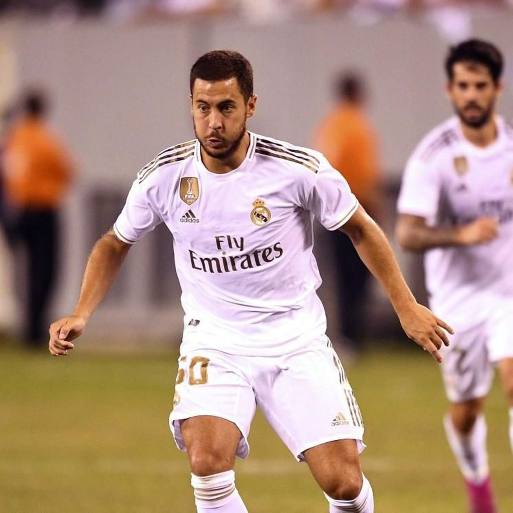 Cedera Paha, Hazard Absen di Pekan Pertama La Liga