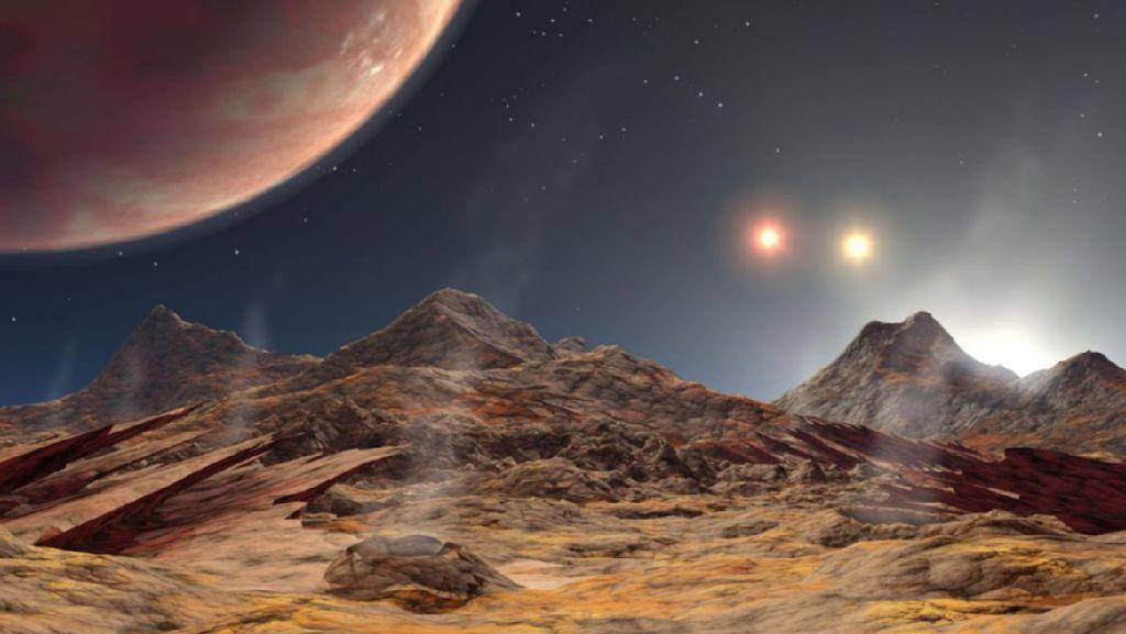 Ilmuwan Temukan Planet dengan 3 Matahari