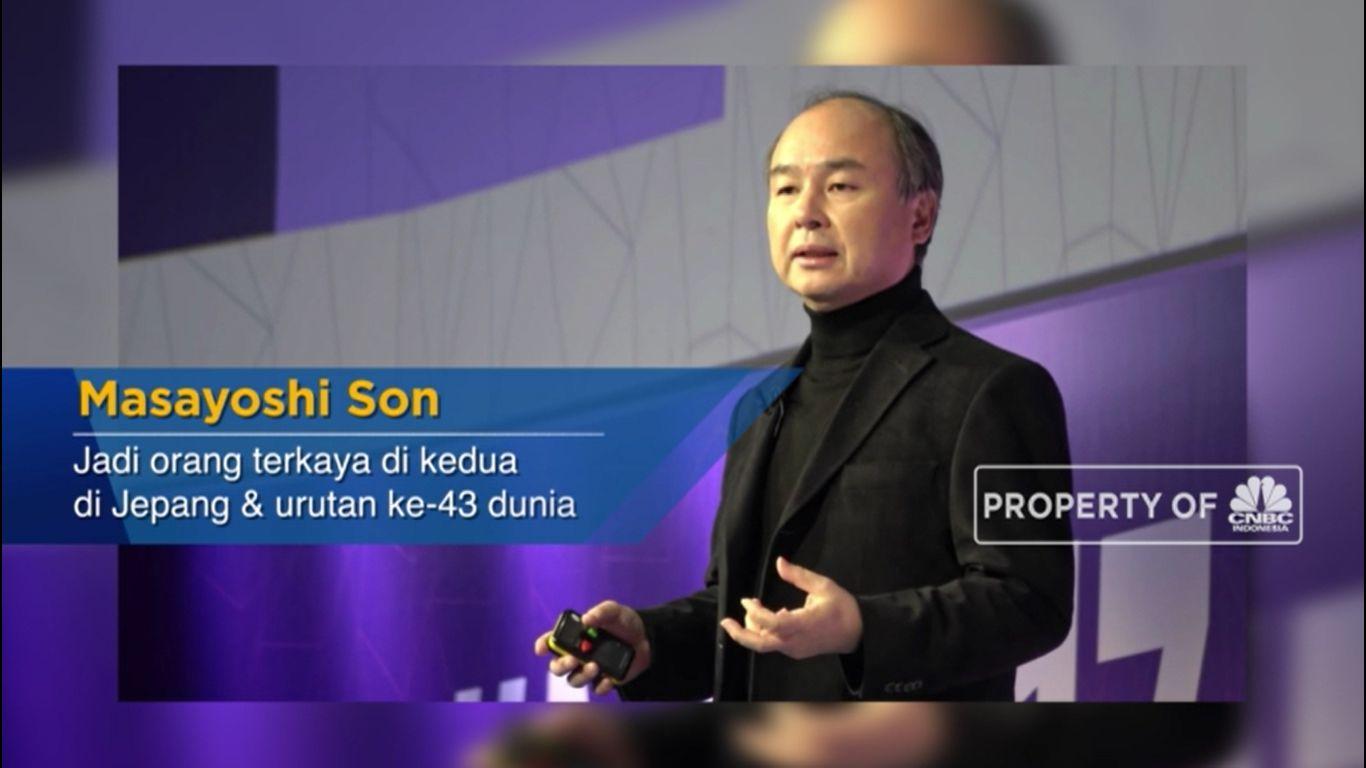 Masayoshi Son, CEO Softbank Investor Rp 42 T di Indonesia (CNBC Indonesia TV)