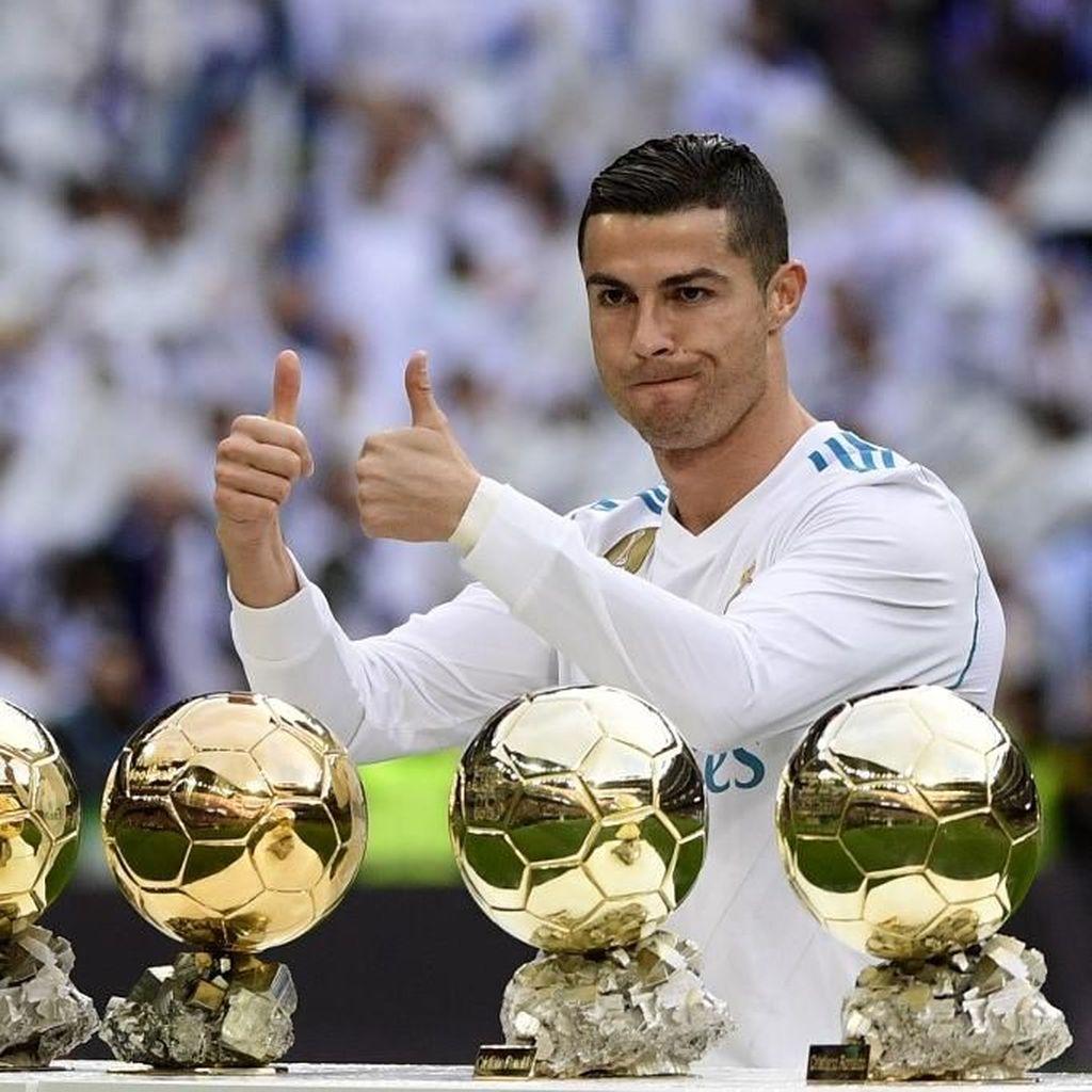 Ronaldo: Bukan Kebetulan Aku dan Messi Raih 5 Ballon dOr