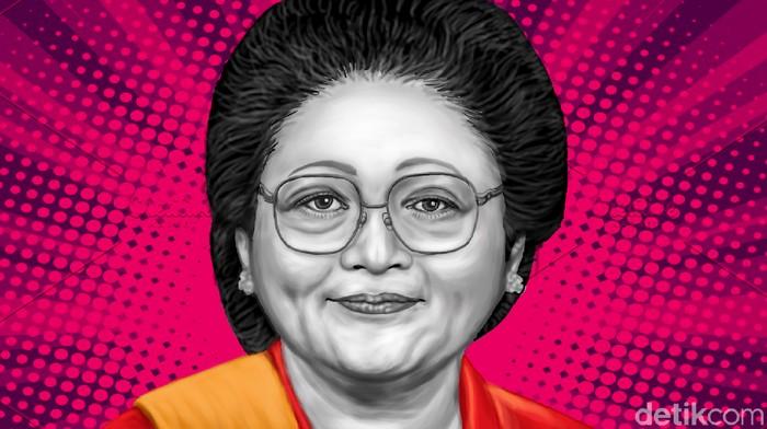 Ilustrasi Tien Soeharto