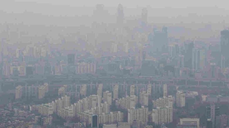 Ilustrasi polusi udara. Foto: Istimewa
