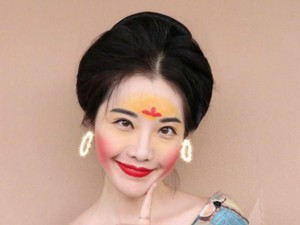 Viral Makeup ala Mulan, Wanita Ramai-ramai Pakai Bedak dari Tepung Beras
