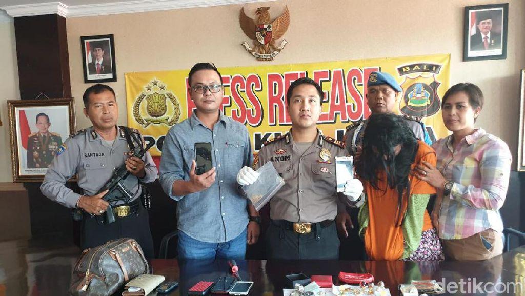 Spesialis Pembobol Vila di Bali Ditangkap Polisi