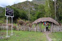 Tanda masuk ke Gua Kontilola (Afif Farhan/detikcom)