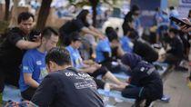 Bareng Pocari Sweat, Go-Life Dukung Hidup Sehat Warga Bandung