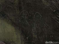 Lukisan 'alien'? (Afif Farhan/detikcom)