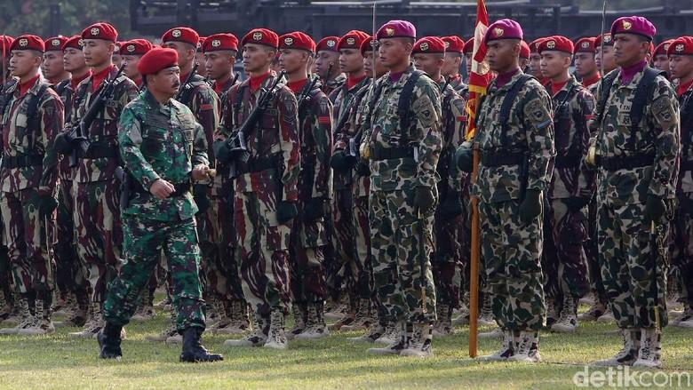 Resmi Dibentuk, Koopssus TNI Dipimpin Brigjen Rochadi