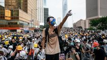 Demonstran di Hong Kong Bikin Kacau Layanan Kereta