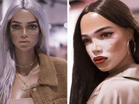 Dipuji Netizen, Manekin di Toko Ini Punya Stretch Marks & Freckles