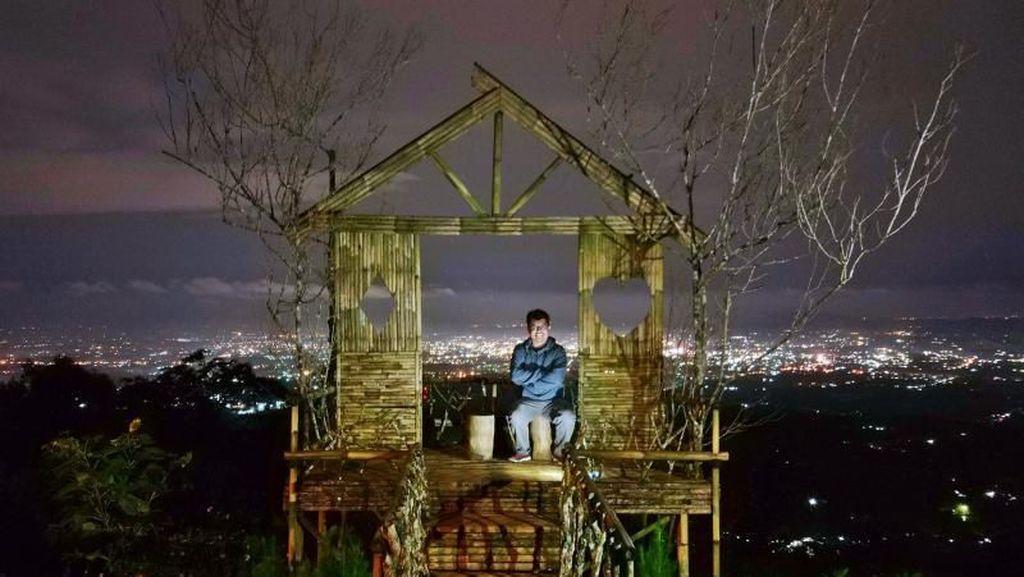 Bukit Cantik di Purwokerto yang Memesona Saat Malam