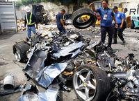 Di Filipina, Mobil dan Moge Selundupan Habis Digilas Buldoser