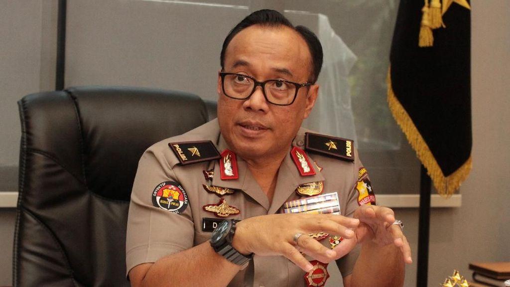 Polri: Gudang Brimob di Semarang yang Meledak Simpan 33 Mortir-Granat
