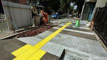 Bina Marga DKI Anggarkan Rp 349 M Bangun Trotoar Complete Street