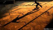 Keseruan Gadis-gadis di Palestina Berlatih Skateboard