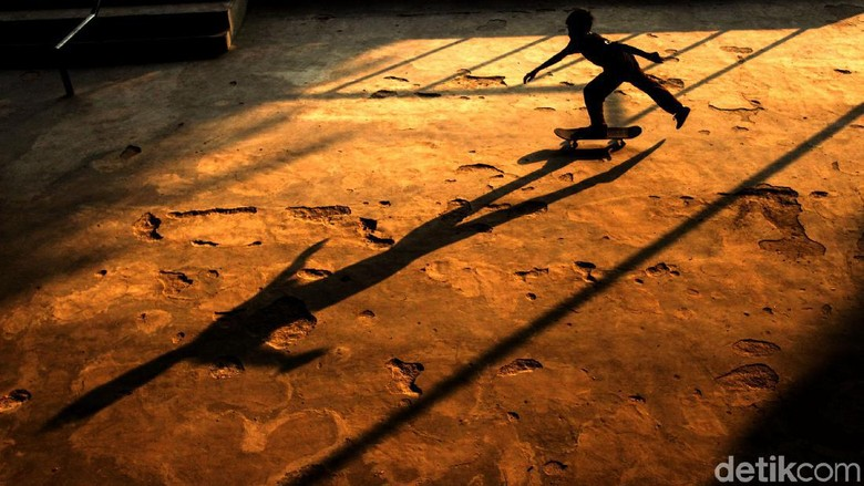 Miris Skatepark Slipi Belum Diresmikan Sudah Rusak