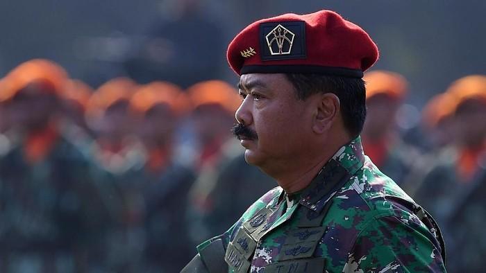Panglima TNI Marsekal Hadi (Foto: Antara Foto/Sigid Kurniawan)
