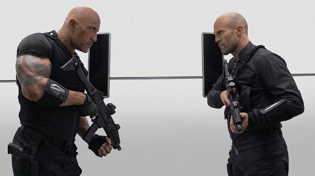 Hobbs and Shaw: Asyiknya Nongkrong Bareng The Rock dan Jason Statham