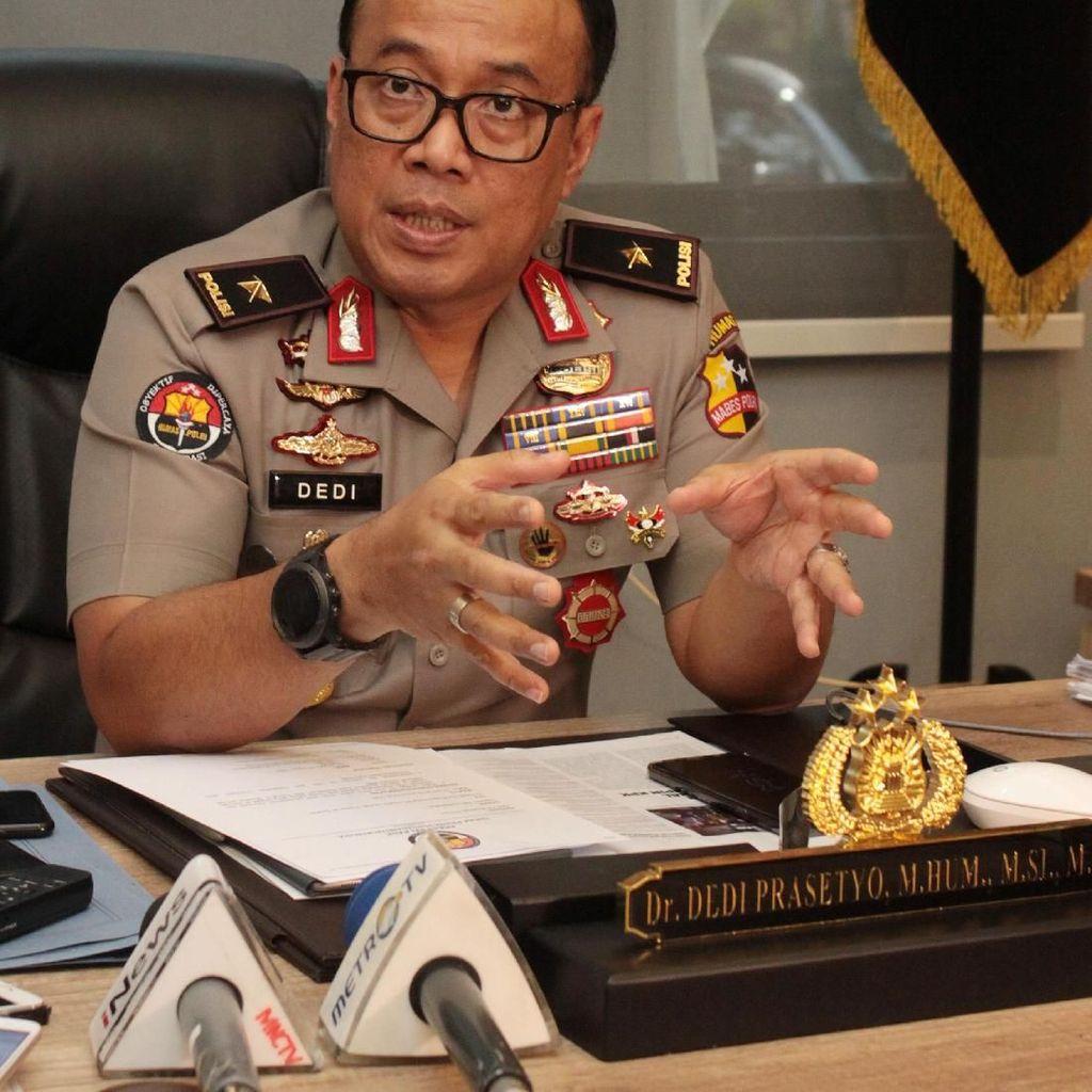 Polri Belum Temukan Jejak Rencana Teroris Beraksi Saat Pelantikan Jokowi