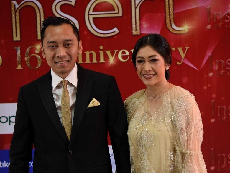 Foto: Ibas Yudhoyono dan Aliya (Noel/detikHOT)