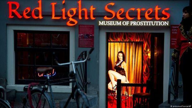 Pekerja Seks Komersial Amsterdam Tolak Digusur dari