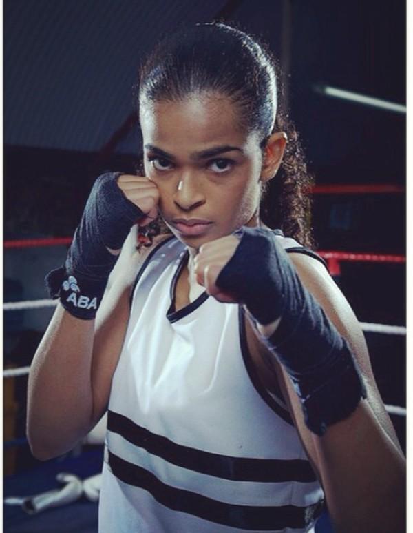 Tak hanya sibuk di ring tinju saja, Ramla juga menyempatkan pergi liburan. (somaliboxer/Instagram)