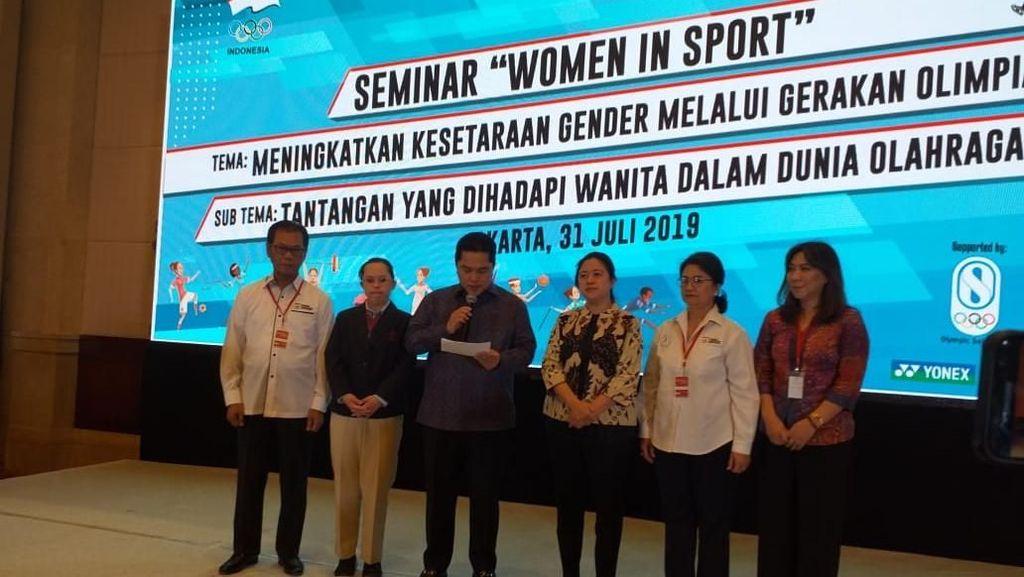 Agar Atlet Perempuan Lebih Terlihat, KOI Bentuk Yayasan Women in Sport