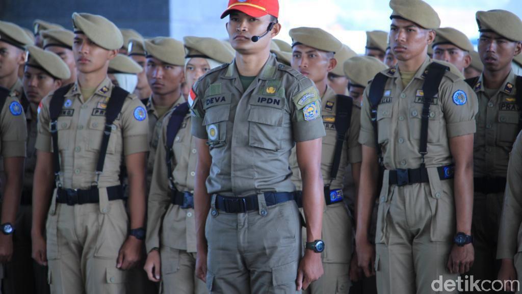 Wapres Jusuf Kalla Lantik 744 Praja IPDN