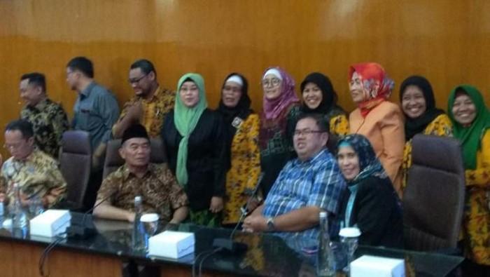 Audiensi MKKS Surabaya dengan Mendikbud/Foto: Istimewa