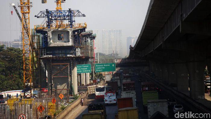 Ilustrasi Proyek Infrastruktur/Foto: Agung Pambudhy
