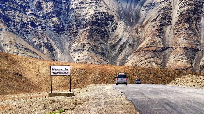 Foto: Magnetic Hill di India (iStock)