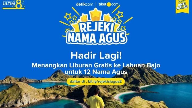 Rejeki Nama Agus 2019 (Foto: dok.detikcom)