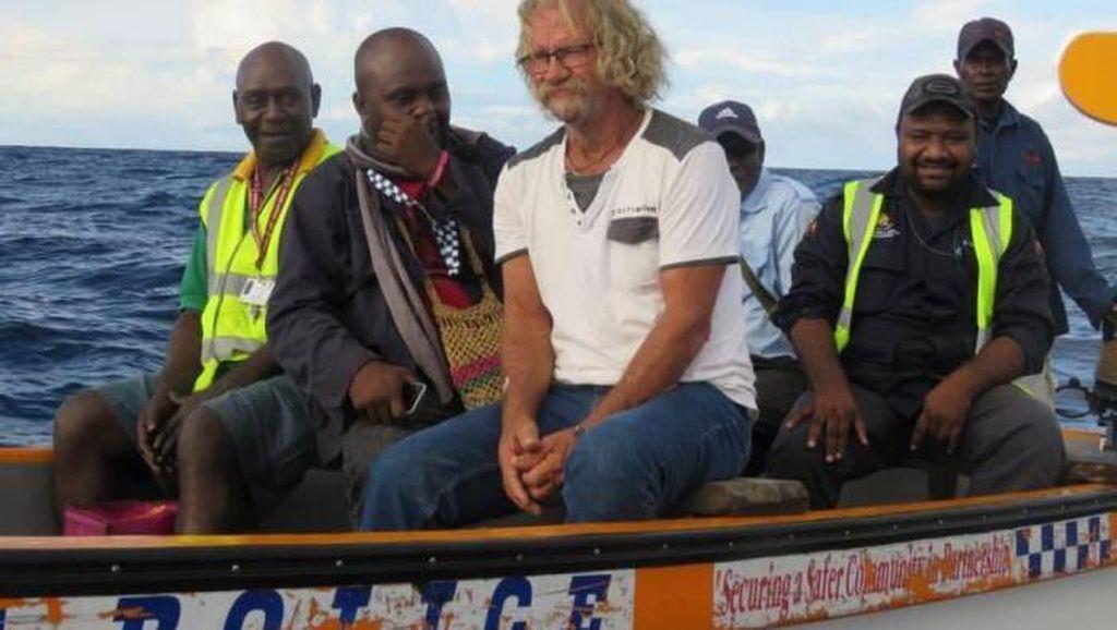 Pria Asal Brisbane Australia Ditemukan Setelah 3 Hari Terapung di Laut