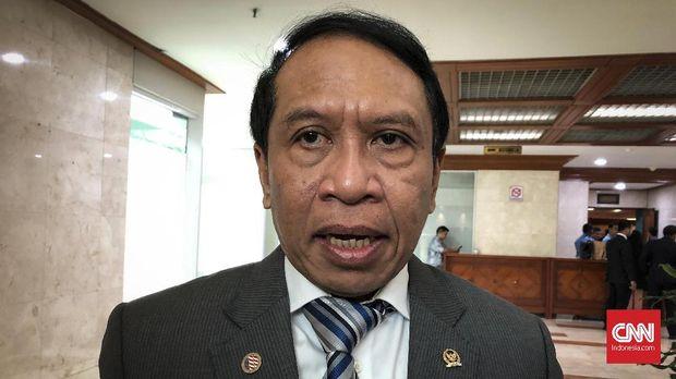 Zainudin Amali menjadi Menpora periode 2019-2024.