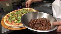 Las Vegas Diserang Belalang, Gerai Pizza Ini Bikin Pizza Topping Belalang