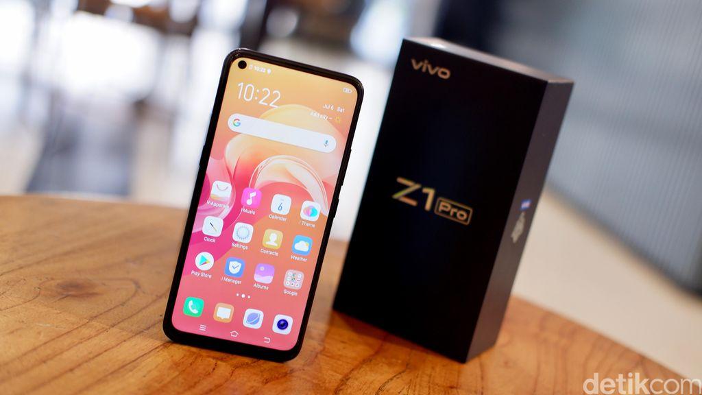 Inilah Vivo Z1 Pro. Foto: Adi Fida Rahman/detikINET