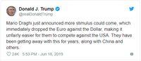 ECB Gelontorkan Stimulus Besar, Pertanda Currency War?