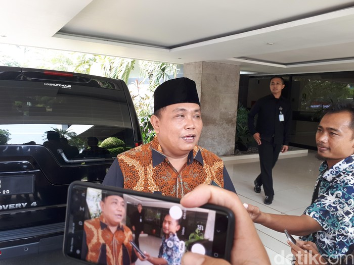 Arief Poyuono (Andhika Prasetia/detikcom)