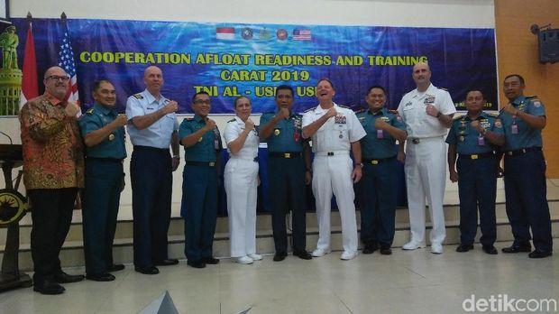 TNI AL Latihan Bersama Militer Amerika untuk Pererat Hubungan