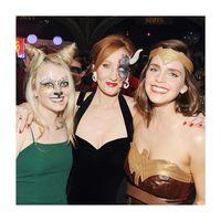 Emma Watson di acara ulang tahun J.K Rowling yang ke-54