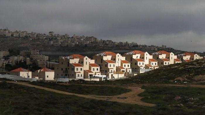 Ilustrasi -- Permukiman Israel di Tepi Barat (BBC World)