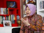 Risma Minta Maaf soal Insiden di Asrama Mahasiswa Papua Surabaya