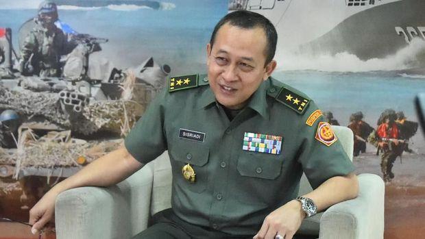 Kapuspen TNI Mayjen TNI Sisriadi