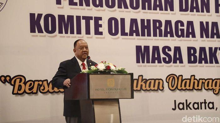 Marciano Norman, ketua umum KONI Pusat 2019/2023 (Pradita Utama/detikSport)
